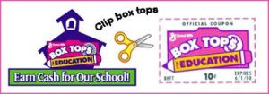 schoolhouse and clipped logo